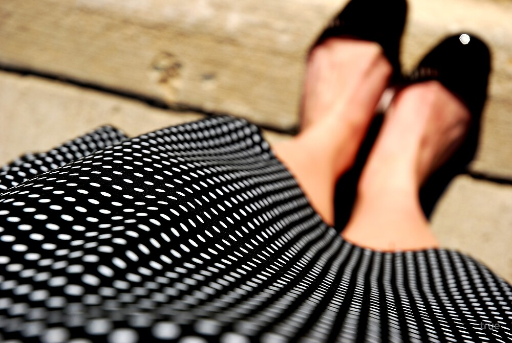 polka dot dress by true