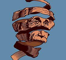 E=MC Escher by Tom Burns
