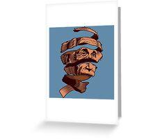 E=MC Escher Greeting Card