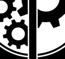 Brotherhood of Steel Logo T-Shirt Sticker