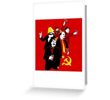 The Communist Party (variant) Greeting Card