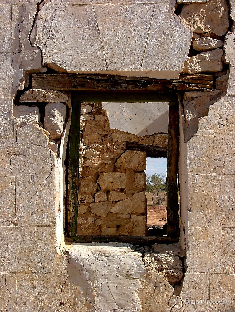 Stone Window by Bryan Cossart