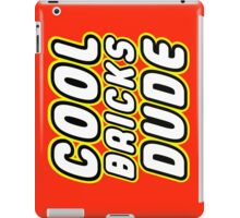 COOL BRICKS DUDE iPad Case/Skin