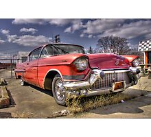 Classic Cadillac  Photographic Print