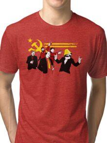 The Communist Party (original) Tri-blend T-Shirt