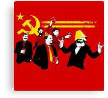 The Communist Party (original) Canvas Print