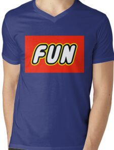 FUN  Mens V-Neck T-Shirt