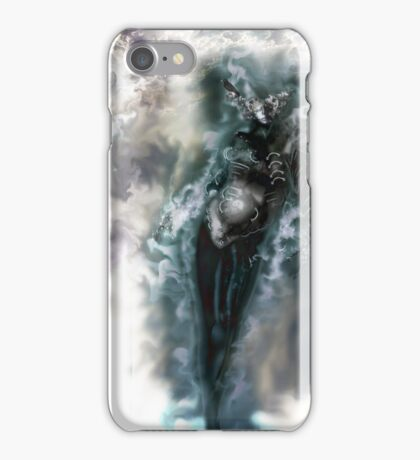 Machine Nightmare {Silver} [ Fantasy Figure Illustration ] iPhone Case/Skin