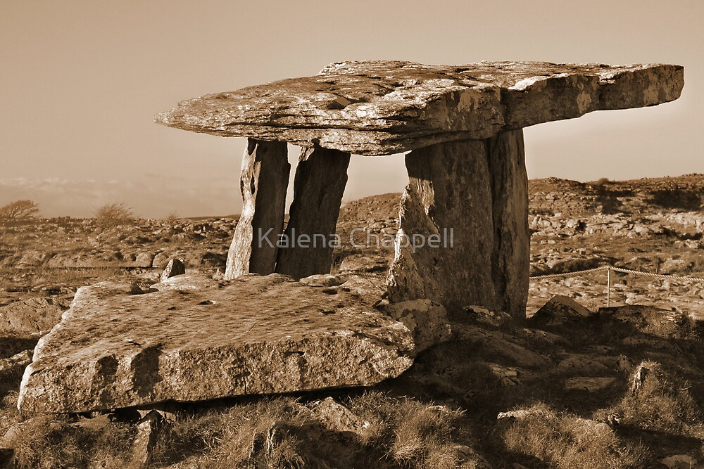 The Poulnabrone Dolmen by Kalena Chappell