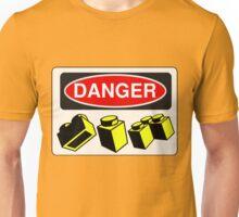 Danger Bricks Sign Unisex T-Shirt