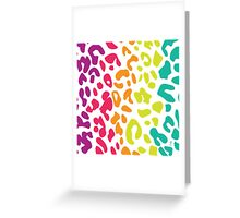 Tropical Leopard Greeting Card