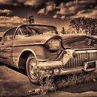 The old Cadillac  by Rob Hawkins