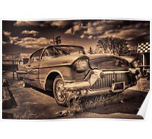 The old Cadillac  Poster