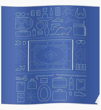 Lebowski Elements Poster
