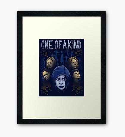 One of a Kind Framed Print
