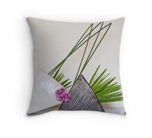 Ikebana-033 Throw Pillow