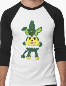 Azusage - Fusion Pokemon Men's Baseball ¾ T-Shirt