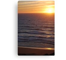 Monterey Bay Sunset Canvas Print