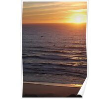 Monterey Bay Sunset Poster