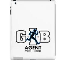 Zac Power - Agent Tech Head iPad Case/Skin