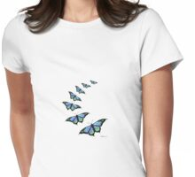 Fly with me Womens Fitted T-Shirt