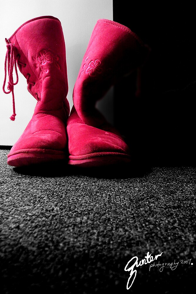 Pink Boots by Gunter Photography