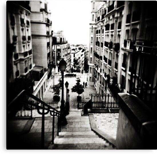 Paris steps by VanessaHall