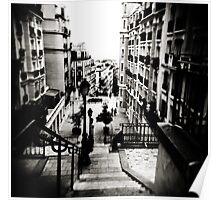 Paris steps Poster