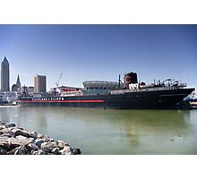 William G. Mather Steamship Photographic Print