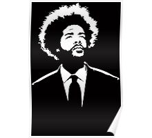 Stencil Questlove The Roots Poster
