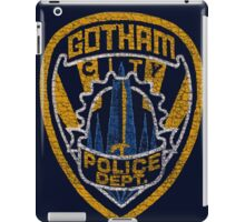 Gotham City PD T-shirt iPad Case/Skin