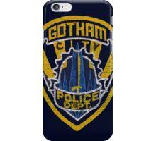 Gotham City PD T-shirt iPhone Case/Skin