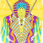 Psychedelic Monkey by PowerMonkey