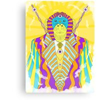 Psychedelic Monkey Canvas Print