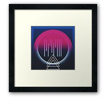 Rise about the femininity  Framed Print