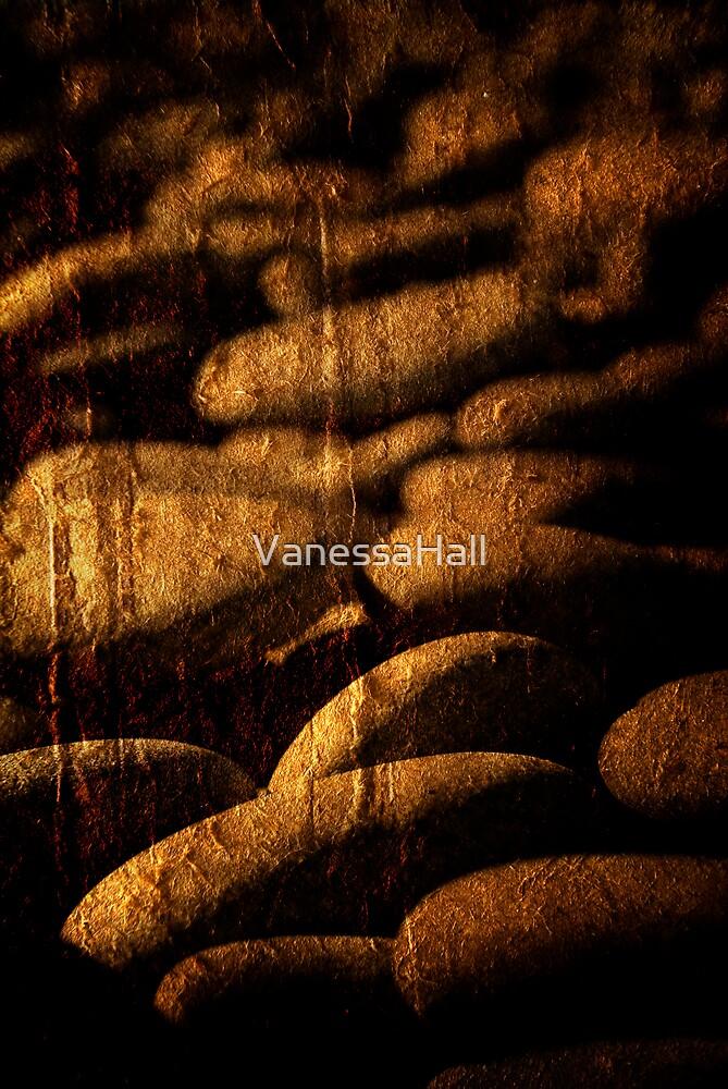 textured stones by VanessaHall