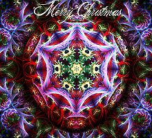 Christmas Fractalart Card by webgrrl