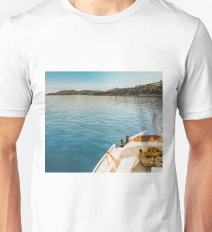 Grace abounds in deepest waters Unisex T-Shirt