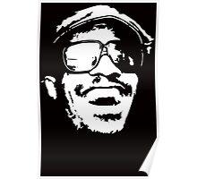 Stencil Stevie Wonder Poster