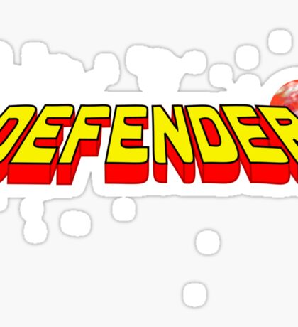 Arcade Classic - Defender. Sticker