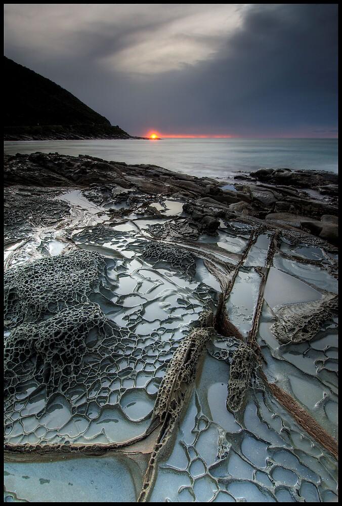 Incomming Storm Dawn by Robert Mullner
