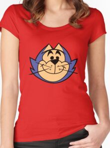 Top Cat - Benny The Ball Women's Fitted Scoop T-Shirt