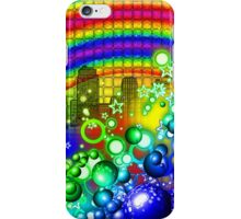 Rainbow Splash City  iPhone Case/Skin
