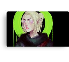 Elf lady Canvas Print