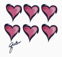 hearts  by Gunter Photography