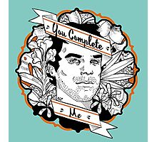 "Dexter- ""You Complete Me"" Photographic Print"