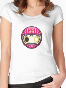 Mikoto's Baby Daruma  Women's Fitted Scoop T-Shirt