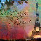 paris boulevard years ago by R Christopher  Vest