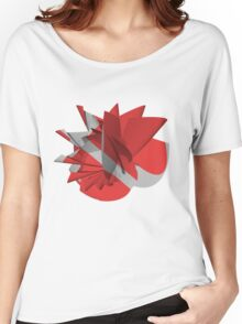 Abstract flower Women's Relaxed Fit T-Shirt