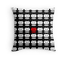 Toothless' Tail Fin Repeating Inverted Throw Pillow
